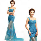 Long Mermaid Lace Prom Bridesmaid Gown Evening/Formal/Prom Womens Party Dress
