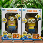 Despicable Me Minion Action Figure Money Box Cool Coin Bank & Metal Keychain