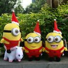 "Despicable Me Plush Toy Christmas Minions Cute Soft Stuffed Animal Doll 6"" & 9"""