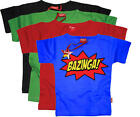 Stardust BAZINGA T-SHIRT Unisex Baby/Child/Kids Clothing Cotton BN