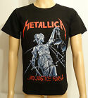 Metallica And Justice For All New Metal Rock Black Printed T-Shirt  Sizes