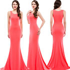 Women Casual Bandage Bodycon FORMAL Cocktail Party Long Prom Dress Evening Gown