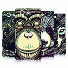 HEAD CASE DESIGNS AZTEC ANIMAL FACES 3 CASE FOR SONY XPERIA Z3 COMPACT D5833