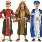 Boys Wise Men Christmas 3 Kings Nativity Play Kids Childrens Fancy Dress Costume