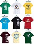 NWT AMERICAN EAGLE S,L,XL,XXL GRAPHIC T SHIRT, GREEN,WHITE,YELLOW,BLUE,BLACK RED