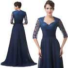 VINTAGE Half Sleeve Mother of the Bride Evening Party Bridesmaids Long Dresses