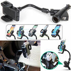 Dual Port Car Mount Charger Holder For iPhone 6 Plus 5S 5C Samsung Note 4 S5 S4