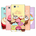 HEAD CASE DESIGNS CUPCAKE HAPPINESS CASE COVER FOR SONY XPERIA Z3 COMPACT D5833