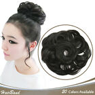 OneDor Synthetic Curly Elastic Hair Band hairpiece Highlight Wrap for Ponytail