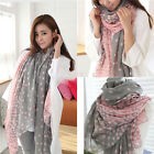 New Fashion Women's Lady Long Candy colors Scarf Shawl Wraps Stole Soft Scarves