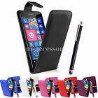 FLIP CASE POUCH PU LEATHER COVER FOR NOKIA 730 735 LUMIA + SCREEN GUARD