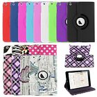 Premium Leather Case Cover with Stand Wake/Sleep Smart For Apple iPad Mini 2 3