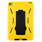 Shockproof Heavy Duty Rubber Hard Stand Case Cover For Apple iPad 2/3/4 Air Mini