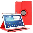 "360 Rotating Leather Case Cover For Samsung Galaxy Tab 4 10.1"" SM-T530 Tablet"