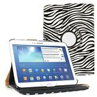 """360 Rotating Leather Case Cover For Samsung Galaxy Tab 4 10.1"""" SM-T530 Tablet"""