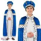 BOYS 3 KINGS KING OUTFIT CHRISTMAS NATIVITY FANCY DRESS COSTUME
