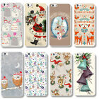 New Fashion christmas Winter Pattern back cover case for apple iphone 5 5S/6