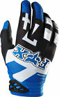 07044-002 Fox Dirtpaw Anthem Gloves Blue Motorcycle MX ATV BMX Off Road Gloves
