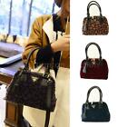 Animal Print Faux Horse Hair Shoulder Crossbody Bag Purse Women Leather Handbag