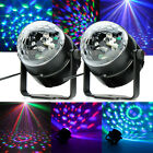 2PCS LED RGB DJ Club Disco Party Magic Ball Crystal Effect Light Stage Lighting