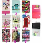 Cartoon Slim Printed Leather Case Wallet ID Cover Stand For T530 T330 T230 T700