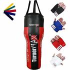 Uppercut Punch Bag Punching Bag Heavy Boxing Bag Angle Red Black TurnerMAX
