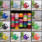 "New 40mm 1-1/2"" 25 yds satin ribbon wedding craft sewing decorations 15 colors"