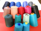 Serger quilting domestic home sewing cone thread 16 COLORS 10000+ yds