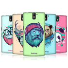 HEAD CASE DESIGNS FAUNA HIPSTERS CASE COVER FOR ONEPLUS ONE