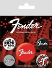 Fender Badge Pack