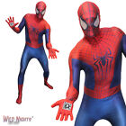 MENS AMAZING SPIDERMAN 2  ZAPPER SUPERHERO MORPHSUIT FANCY DRESS COSTUME