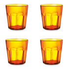 400ml PLASTIC TUMBLER FOR JUICE AND COLD DRINKS - GLASS CUP BEAKER MUG