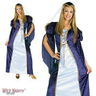 FANCY DRESS COSTUME ~ LADIES MEDIEVAL SHAKESPEARE JULIET ROBE FITS UP TO SIZE 16