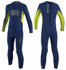 O'Neill Full Suit Toddler Reactor Kinder Neopren navy/lime
