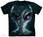 NEW GREY ALIEN The Mountain T Shirt Adult Sizes