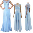 Women Formal Long Wedding Prom Evening Ball Gown Homecoming Party Maxi Dress HOT