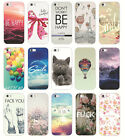 New Various Fashion Patterns Hard Back Phone Case Cover For Apple iPhone 5 5s