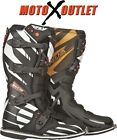 2015 FLY Racing F4 Maverik Motocross Boots MX Dirt Bike ATV Black