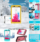 Waterproof Shockproof Dirt Snow proof Red pepper Case Cover for LG G3