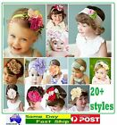 Multi-Coloured Cotton Headbands Hair Accessories HairBand Toddlers Baby Children