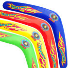 Boomerangs Pack Of 2 plastic V Shaped Whirlwind Kids Children Outdoor Boomerangs