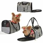 Houndstooth fashion bag carrier for dog pet puppy comfort travel