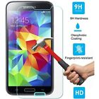 FOR SAMSUNG GALAXY S5 SV BALLISTIC TEMPERED GLASS SCREEN PROTECTOR GUARD 9H HARD