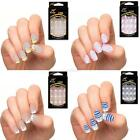 Hot 25 Different Style Acrylic Nail tips Manicure French False Nail Art Tips A86