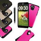 Heavy Duty Thick Combo Impact Rugged Box Case Cover For LG G Pro Lite D682 D680