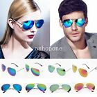 New Unisex Retro 80s Vintage Womens Mens Mirror Aviator Lens Sunglasses Glasses