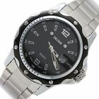 FW904A New Black Dial Shiny Silver Band PNP Shiny Silver Watchcase Mens Watch