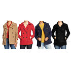 NWT Old Navy Women's Classic Wool-Blend Peacoats Coat Winter Jacket 4 Color S-L