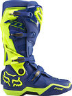Fox Racing Blue/Yellow Instinct LE A1 Anaheim Dirt Bike Boots MX ATV 2015