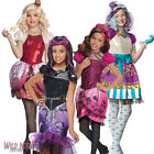 FANCY DRESS COSTUME ~ GIRLS MONSTER EVER AFTER HIGH KIDS FAIRYTALE OUTFIT + WIG